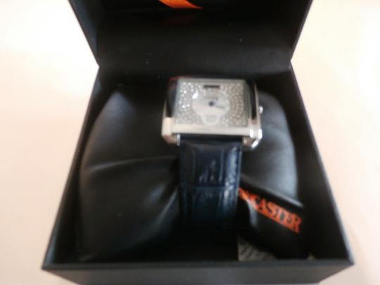 Lancaster new Lancaster Italy Women's Silver With White MOP Dial & watch $450.00