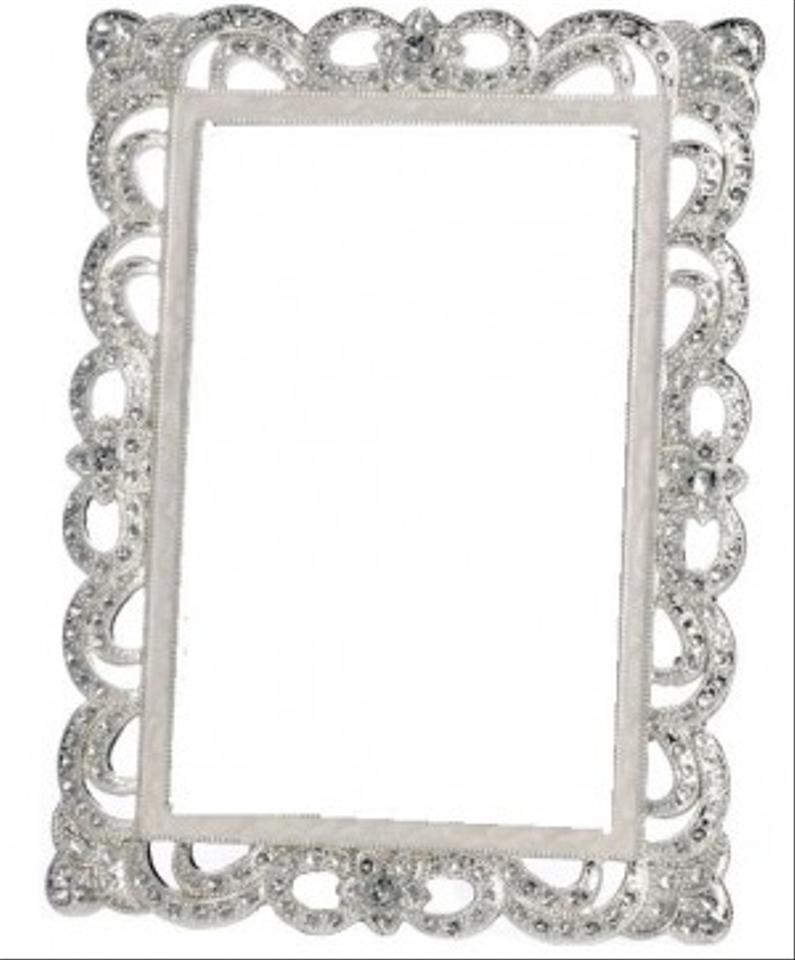 Silver 7 Bling Rhinestone Ornate Jeweled Frames Reception Decoration ...