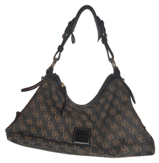 Preload https://item5.tradesy.com/images/dooney-and-bourke-and-bagtote-black-monogram-canvasleather-hobo-bag-5958919-0-0.jpg?width=440&height=440