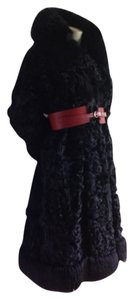Russian vintage Fur Faux Fur Fur Coat