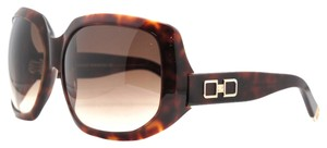 DSquared DSquared Dark Havana Oversized Full Rim Sunglasses