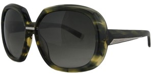 DSquared DSquared Green Tortoise Oversized Square Full Rim Sunglasses
