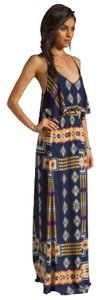 Blue Maxi Dress by Eight Sixty Tribal Maxi Maxi