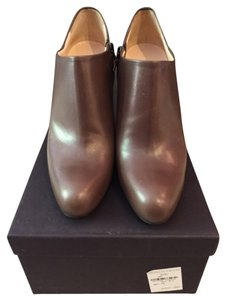 Prada Taupe/gray/brown Boots