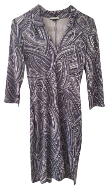 Preload https://item5.tradesy.com/images/evolution-paisley-dress-blue-and-white-5967499-0-0.jpg?width=400&height=650
