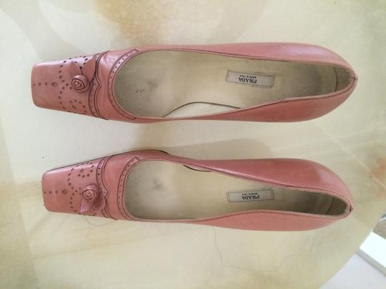 Prada Pink Pumps
