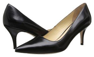 Cole Haan Classic Small Heel 2-3 Inches Heels Leather black Pumps