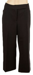 Tahari Capris Trouser Capri/Cropped Pants Black