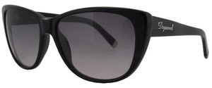 DSquared DSquared Black Wayfarer Full Rim Sunglasses