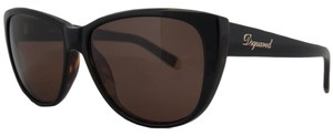 DSquared DSquared Dark Havana Wayfarer Full Rim Sunglasses