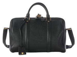 Louis Vuitton Top Handle Satchel in Black