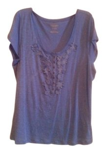 Old Navy Casual Comfortable T Shirt Blueberry
