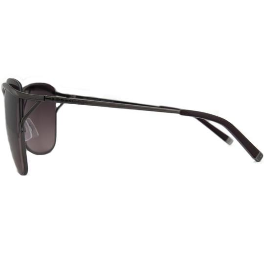 DSquared DSquared Gunmetal Square Full Rim Sunglasses