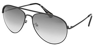 Lanvin Lanvin Aviator Sunglasses in Black with Gradient Lenses SLN 003 H41X 60/15/135