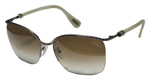 Lanvin Lanvin Antique Bronze Thorn Sunglasses with Gradient Lens SLN 004S 0S29 58/17/135
