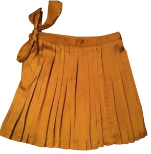 Gap Gap Pleated Skirt with side bow detail