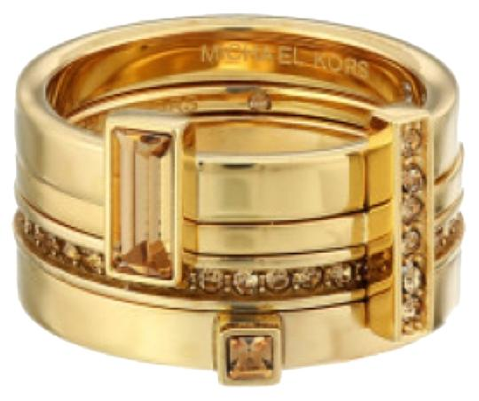 Michael Kors Brilliance Stackable Ring Size 7
