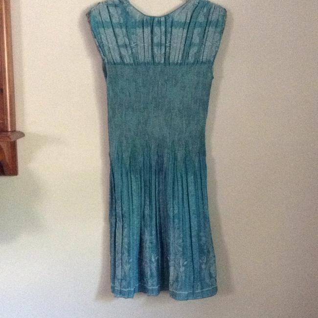 Max Studio short dress Light & medium aqua on Tradesy