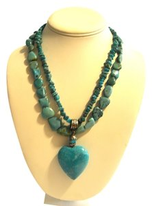 Mine Finds by Jay King Mine Finds by Jay King Turquoise Necklace Set 19 Inch