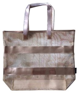 Tote in Rose Gold Metallic