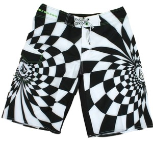 Volcom Men's size 33 Volcom Dingo Checkburst Mod Boardshort - A081908