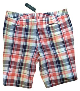 Talbots Bermuda Shorts Plaid