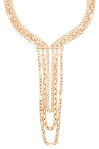 Henri Bendel Deb Link Waterfall Necklace