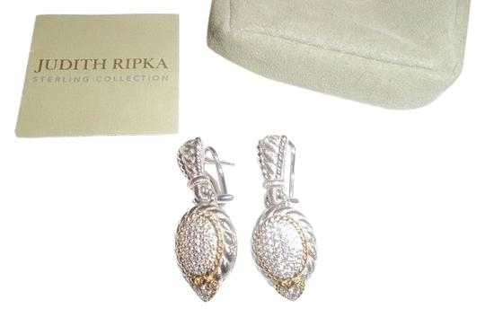 Preload https://item4.tradesy.com/images/judith-ripka-clear-newclip-on-sterl18k-clad-pave-diamoniqueomega-earrings-5970073-0-0.jpg?width=440&height=440