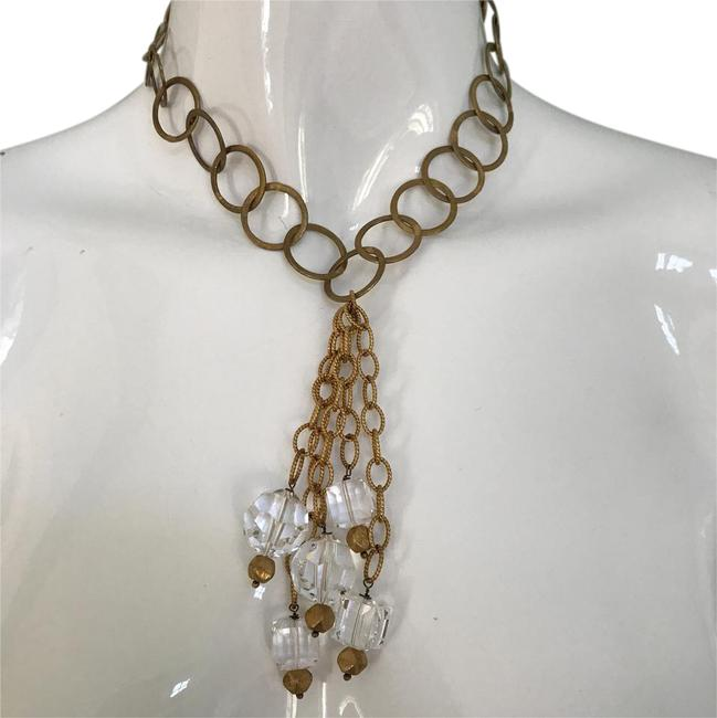 Item - Gold Crystal Necklace