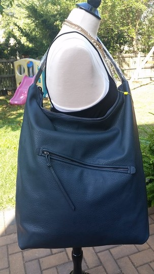 BCBGeneration Shoulder Large Extra Large Tote in Charcoal Gray
