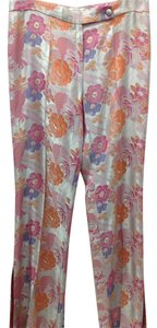 La Difference Italy Flowers Trouser Pants Multicolor