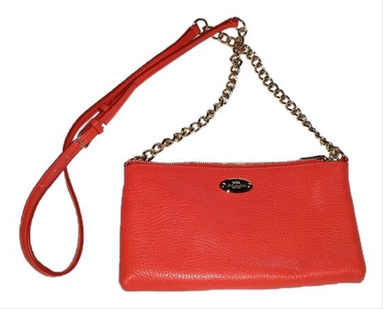 Coach Nwt Leather Pebble Quinn Cross Body Bag