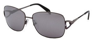 Emilio Pucci Emilio Puccisu Rectangle Gunmetal Sunglasses EP128S 015-59-15-120