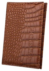 Alligator Embossed Passport Wallet Cover Free Shipping