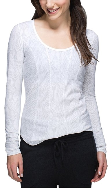 Item - Desert Snake White Silver Fox Between The Lines Activewear Top Size 8 (M, 29, 30)