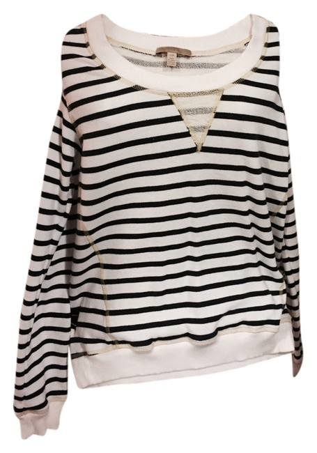 Preload https://item5.tradesy.com/images/navy-white-stripes-sweatshirthoodie-size-4-s-5972149-0-0.jpg?width=400&height=650