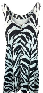 Kate Spade short dress New York Play The Wild Card Jillian Zebra Size 0 on Tradesy