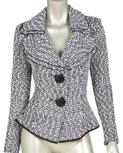 Joseph Ribkoff Black White Jacket