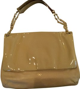 Anya Hindmarch Gold Hardware Divided Into 3 Compartments Dust And Card Included Shoulder Bag