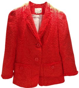 Kate Spade Red Jacket Size 5 Blazer