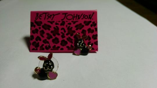 Other New Betsey Johnson Bunny Earrings A003