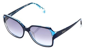 Emilio Pucci Emilio Pucci Black & Blue Sunglasses with violet Gradient lens EP687S 426-56-16-130