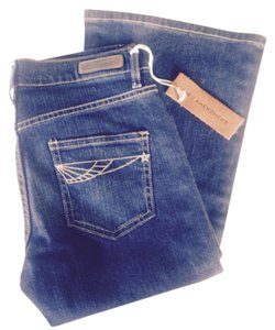 18th Amendment Denim Australian Flare Leg Jeans-Dark Rinse