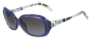 Emilio Pucci Emilio Pucci Purple Sunglasses with Black Gradient Lens EP694S 539-57-17-130