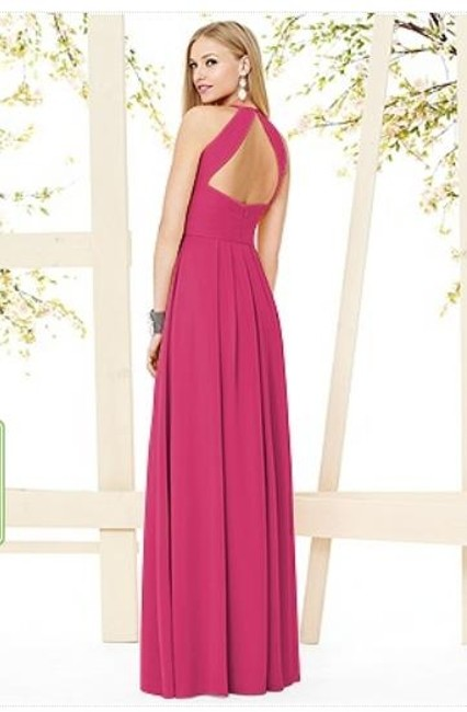 Dessy Full Length Halter Dress