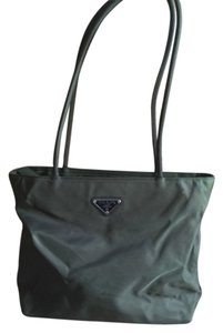 Prada Tote in Dark Green