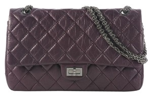 Chanel Plum Reissue Ch.j0818.05 Satchel