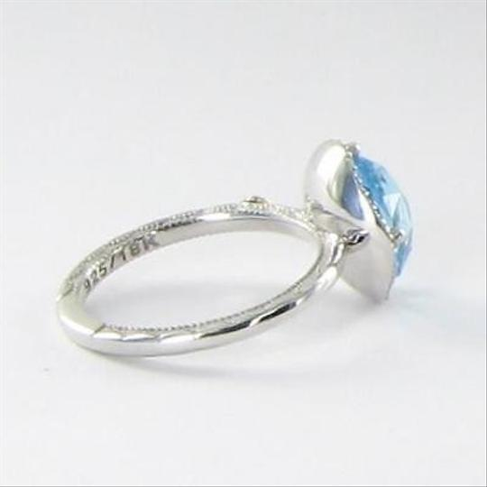 Tacori Tacori 18k925 Island Rains Ring 0.13cts Diamond Blue Topaz 925