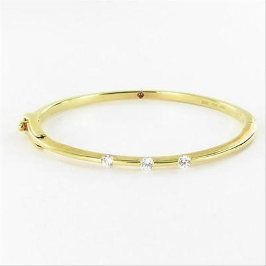 Roberto Coin Roberto Coin Classica Parisienne Bracelet 0.45cts Diamonds 18k Y Gold