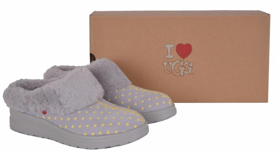 18a92eec955 UGG Australia Gray I Heart Dreams Classic Slipper Mules/Slides Size US 5  Regular (M, B) 44% off retail